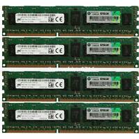4GB 8GB 16GB 32GB PC3-14900R 1RX4 DDR3 1866MHZ ECC REGISTERED REG Server Ram lot
