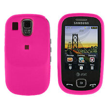 Pink Snap On Hard Case Cover for Samsung Flight A797