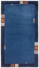 Tapis bleu modernes pour la maison de Gabbeh