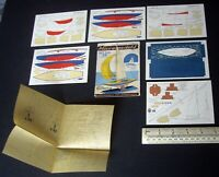 1954 Vintage Original Micromodels Set SXIII (S13) The Royal Bluebottle Yacht