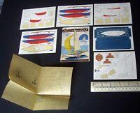 1954 Vintage Original Micromodels Set SXIII (S13) The Royal Bluebottle Yacht