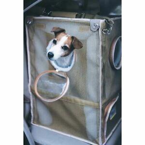 "Kittywalk Cozy Cabin Pet Car Seat Taupe 17"" x 17"" x 24"""