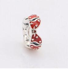 European Silver Charm Bead Fit sterling 925 Necklace Bracelet Chain US hot J46