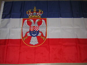 100% NEW Reproduced Flag Naval Ensign of Kingdom of Yugoslavia Navy 3X5ft,