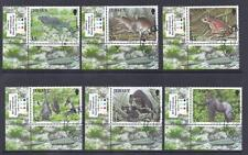 JERSEY, 2009 ENDANGERED SPECIES, SG 1421-26, FINE USED. CAT £9