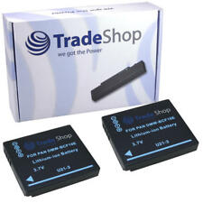 2x batterie pour panasonic fs10 fs-10 cga-s/106c cga-s106c