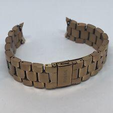 Fossil FTW6008 Q Venture GEN 3 Reloj inteligente con correa de oro rosa de diamantes 18mm