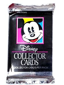 Vtg 1991 Impel Walt Disney Collector Cards Unopened 15 Cards Pack ~ Ships FREE