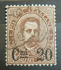 1879 Regno D'Italia 20 centesimi sovrastampato su 30 Bruno   Umberto I