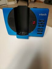 VTech CS6929-15 CORDLESS Home PHONE (MAIN BASE AND POWER CORD ONLY) BLUE Pre-Own