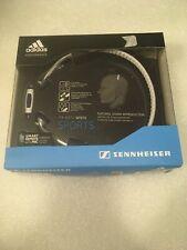 Sennheiser PX 685i Adidas Sports Headband Headphones Micoach White New