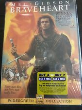 Braveheart Dvd, 2000 Mel Gibson Brand New Sealed