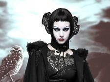 Gothic Steampunk Choker Stehkragen Kragen Neo Victorian Punk Rave Hals Korsett