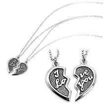 Liebe & Herzen Unisex-Modeschmuck-Halsketten