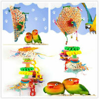 Pet Bird Parrot Swing Cage Toy Foraging Toys Chew Bites R4L0 Typ- For Parak O7P2