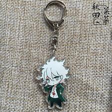 Danganronpa Komaeda Nagito Pendant Hang Key Buckle Ring