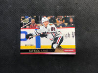 2020-21 UPPER DECK SERIES TWO PATRICK KANE UD EXCLUSIVES GOLD #ed 58/100