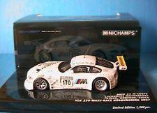 BMW Z4 #170 M-COUPE VLN 250 MILES RACE NURBURGRING 2007 MINICHAMPS 400072770