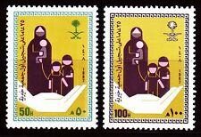 Saudi Arabia 1987 ** Mi.895/96 Wohlfahrt Social Welfare