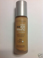 Maybelline Instant Age Rewind Foundation Nude (Light-4) Silver Cap Bottle New.
