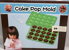 Silicone Cake Pop Mold 20 Ct  Green