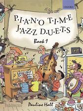 Piano tiempo Jazz dúos Book 1 Oxford Piano Método Libro De Partituras Pauline Hall