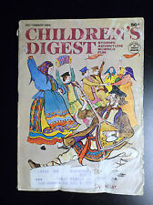 RARE revue anglaise Children's Digest Mars 1969  AVEC publication Tintin