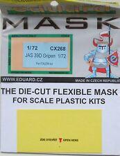 Eduard 1/72 CX268 Canopy Mask for the Italeri Saab JAS 39D Gripen kit