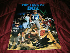 "BRIAN BOSWORTH SEATTLE SEAHAWKS ""THE LAND OF BOZ"" 20X30 POSTER PRINT"