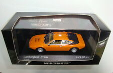Minichamps  PMA Lamborghini Urraco 1974 orange neuve en boite surboite 1/43ème