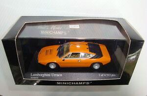 MINICHAMPS Pma Lamborghini Urraco 1974 Orange New IN Box Surboite 1/43ème
