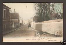 BURES /YVETTE (91) CYCLISTE & VILLAS à l'ENTREE en 1905