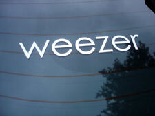 Weezer rock band decal sticker