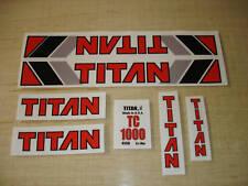 Titan TC1000 BMX Frame Decal Set old school BMX