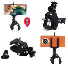 Abrazadera de montaje del manillar cámara GoPro Adaptador de tija de sillín bicicleta de barra de rodillo Foto de acción