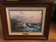 "Thomas Kinkade ""Beacon Of Hope"" Classics Collection Framed Print W Coa 18"" x 15"""