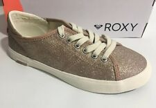 Women's Roxy Glitter Sparkle Layne Pink Fashion Sneakers Shoe SZ 6