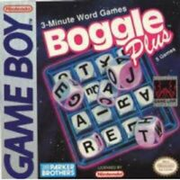 Boggle Plus - Nintendo Game Boy