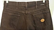RED KAP MENS BLACK JEANS SIZE  Tag 33 X 37 Altered Tailored Measured 33 X 29
