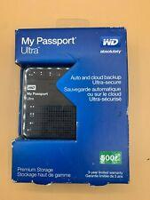 WD My Passport Ultra 500 GB Portable External USB 3.0 Hard Drive with Auto Backu