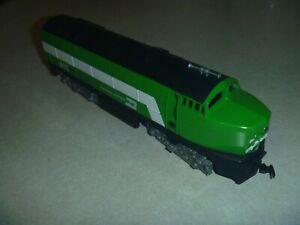 vintage OOP HO Tyco Baldwin Sharknose diesel locomotive BN Burlington Northern
