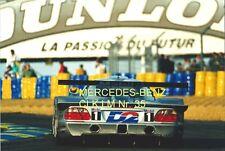 Mercedes-Benz CLK LM  Nr.35 Le Mans 1998 Schneider/Ludwig/Webber Foto 20cmx30cm