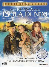 2 Dvd **ALLA RICERCA DELL'ISOLA DI NIM** con Jodie Foster Ediz. speciale 2008