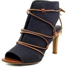 Sandalias y chanclas de mujer de color principal negro de lona Talla 37.5
