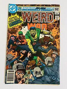 Weird War Tales #93 DC 1980 1st Appearance Creature Commandos