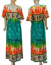 Unbranded Rayon Regular Size Maxi Dresses for Women
