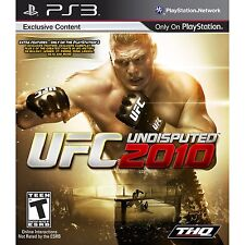 UFC Undisputed 2010 Ps3 Playstation 3