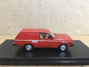 1/43  TRAX TRR113 1980 TE Gemini Gypsy Panel Van – Red