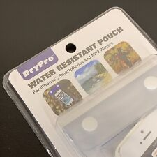 Clear DryPro Water Resistant Pouch for iPhones, Smartphones, MP3 Players