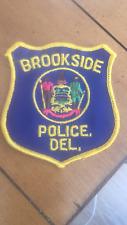 RARE Vintage Brookside Delaware Police Patch
